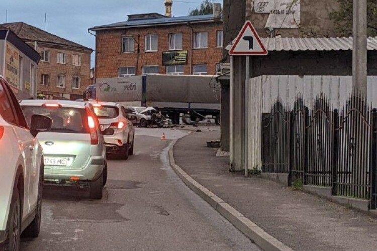 У Горохові сталася страшна ДТП (Фото, відео)