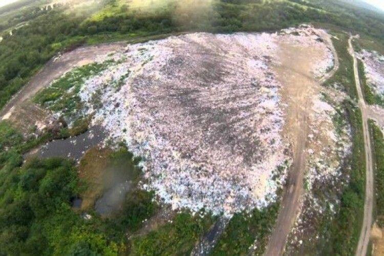 Які райцентри Волині потребують будівництва полігонів твердих побутових відходів?
