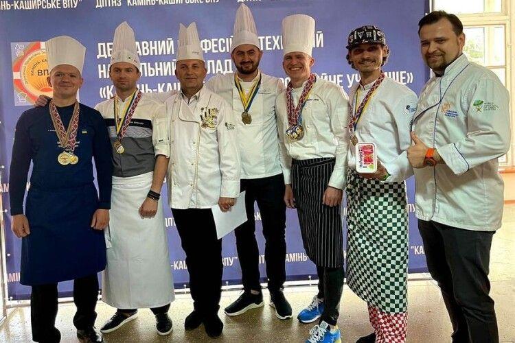 На Волині позмагалися зіркові кухарі України