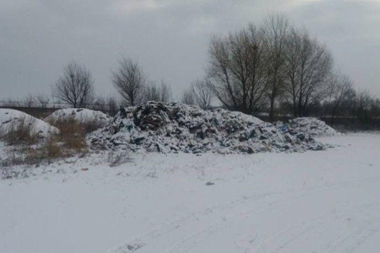 Львіське сміття знову виявили на Рівненщині