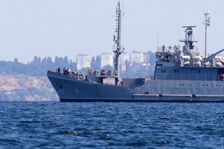 Новітнє українське морське судно називатиметься «Сімферополь»