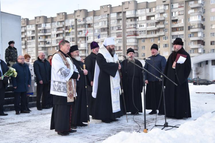 Лучани помолилися за Україну