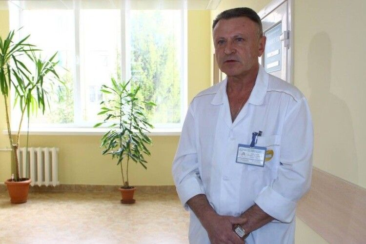 Михайло Токарчук залишиться працювати у луцькому пологовому
