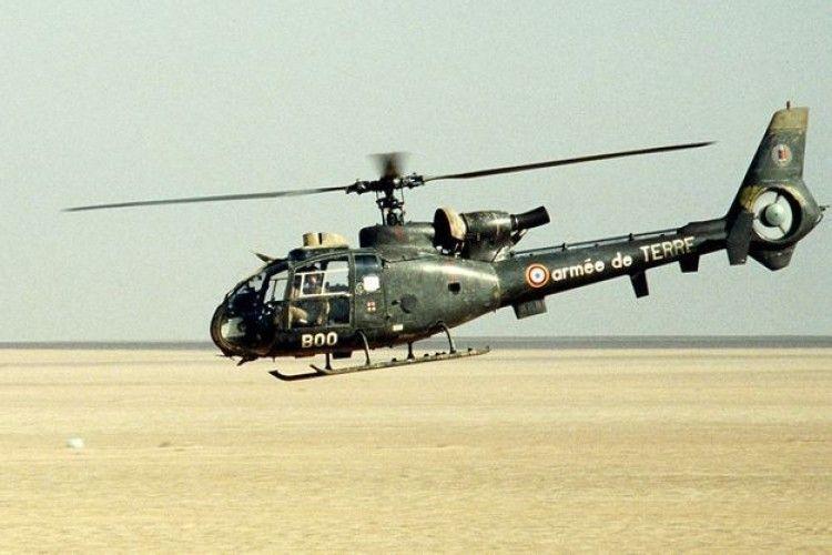 У Кот-д'Івуарі розбився французький військовий вертоліт