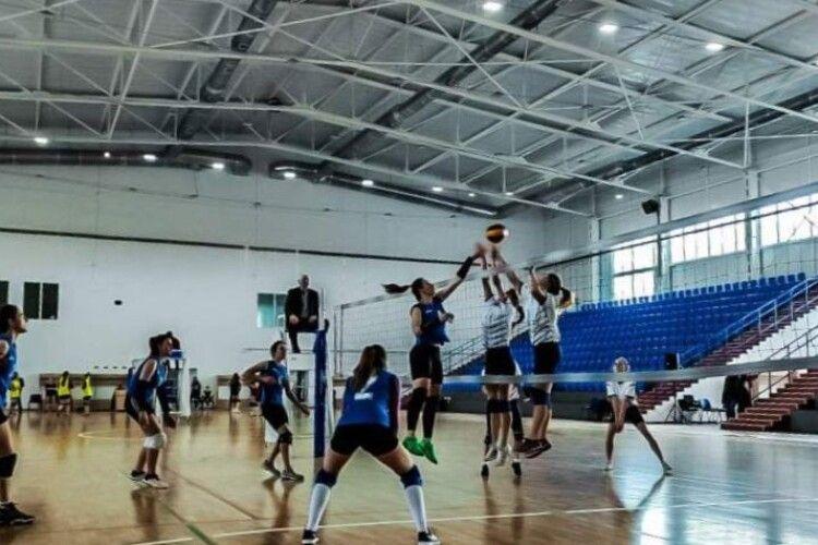 Волейболістки Луцького НТУ перемогли у турнірі