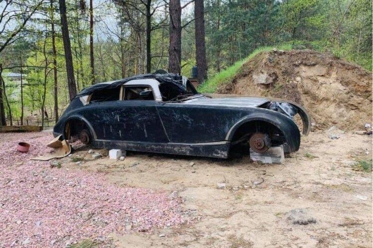 Посеред лісу українець знайшов «Майбах Гітлера»