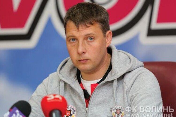 Андрій Тлумак заявив, що після виходу з карантину гравцям «Волині» знадобиться місяць, аби набрати ігрову форму