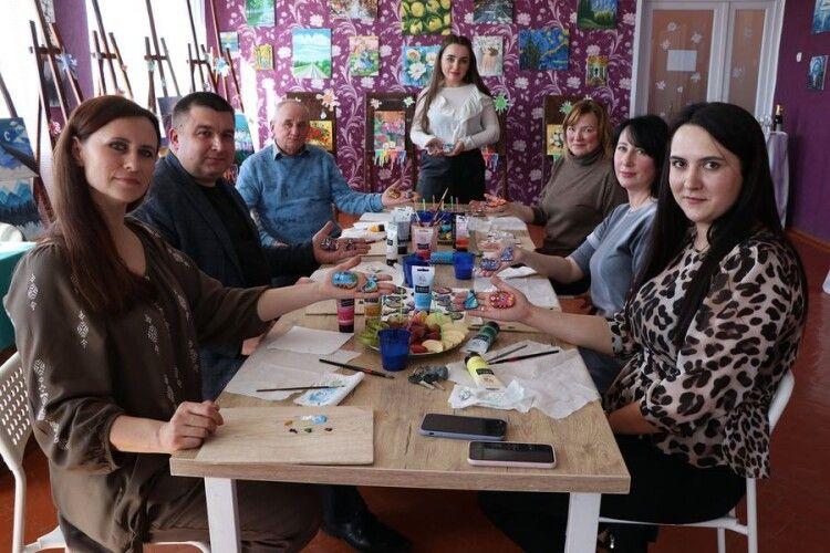 Мер волинського міста взяв участь у художньому майстер-класі