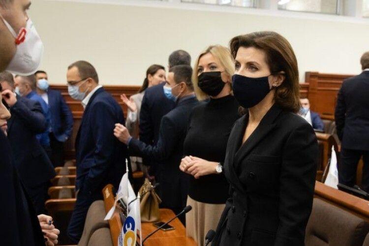 Марина Порошенко про боротьбу з ковідом: столичні лікарні отримають додаткове фінансування ще до кінця року