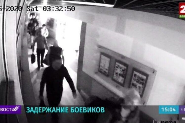 У Білорусі затримали російських бойовиків