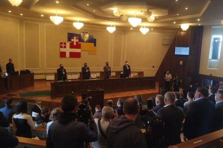 Спікер Верховної Ради України сьогодні зайняв місце голови Волинської облради