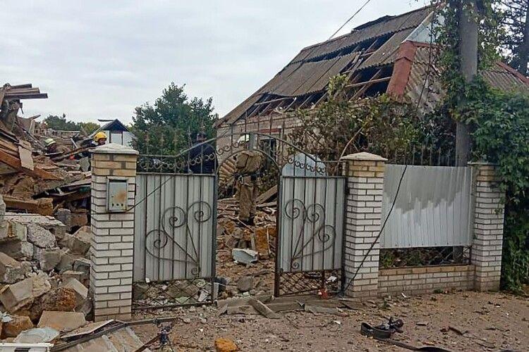 Власник хотів скоїти самогубство: у Запорізькій області вибухнув двоповерховий будинок (Фото)