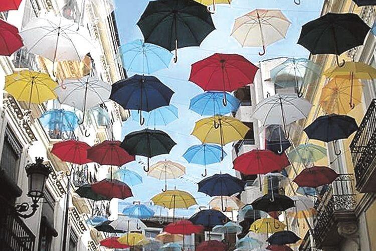 Вибираємо парасольку