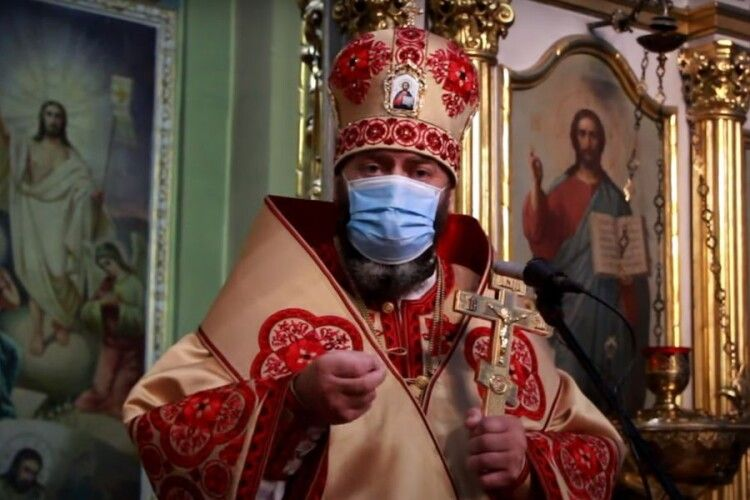 Волинський митрополит розповів, як подолав коронавірус