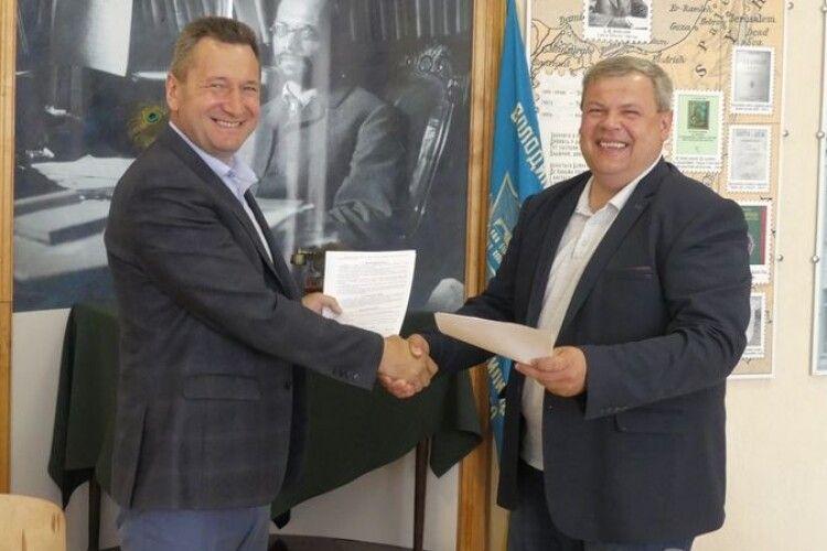 Університет Лесі Українки співпрацюватиме з коледжем Агатангела Кримського (Фото)