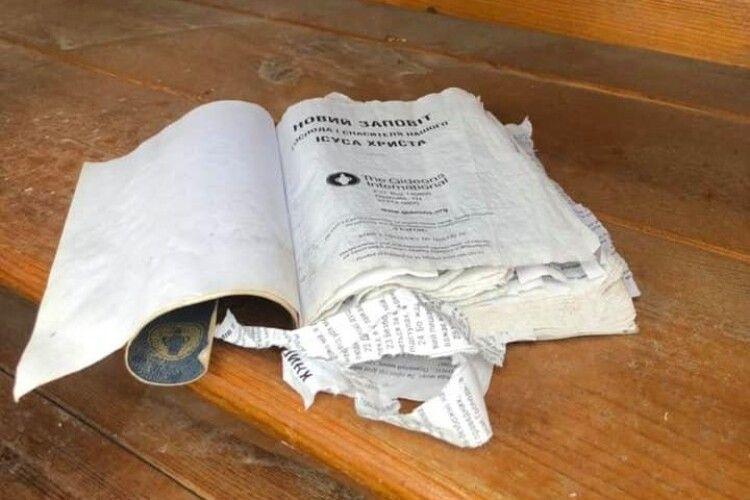 У Смідинській ОТГ від вандалів постраждала вулична бібліотека