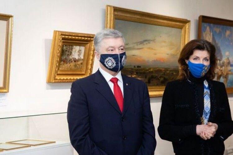Арешт картин Порошенка скасували як незаконний