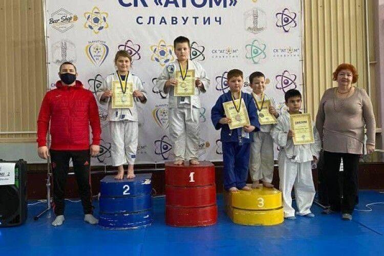 Шацькі дзюдоїсти здобули призові місця на турнірі в Хмельницькій області