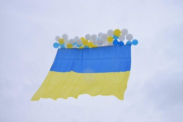Навіть вітер був на боці України... (Фото, відео)