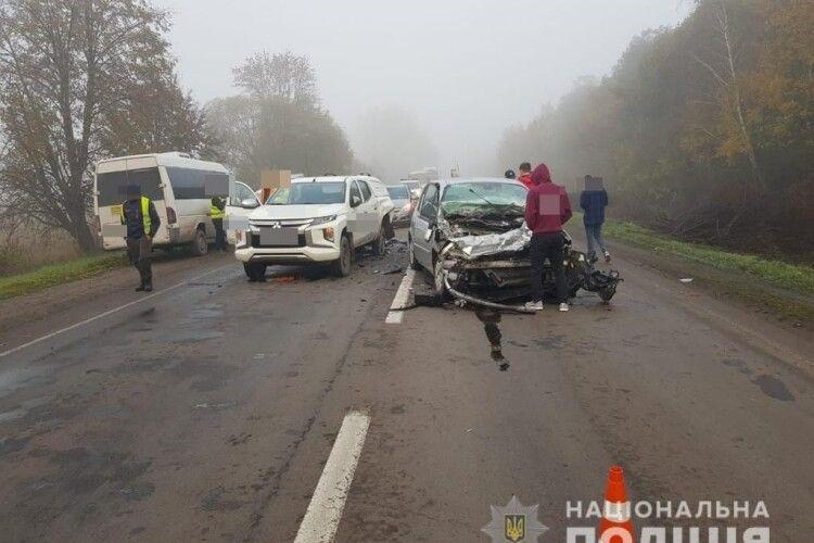 На Волині водійка Renault зіткнулася із Mitsubishi (Фото)