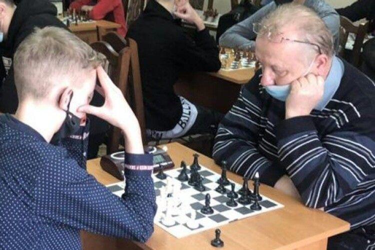 13-річний волинянин став чемпіоном міського турніру з шахів