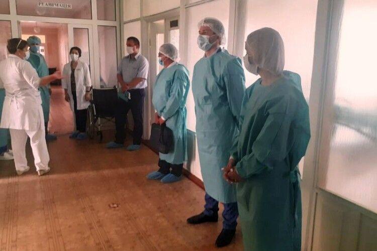 На Старовижівщині районні медустанови передадуть в комунальну власність ОТГ