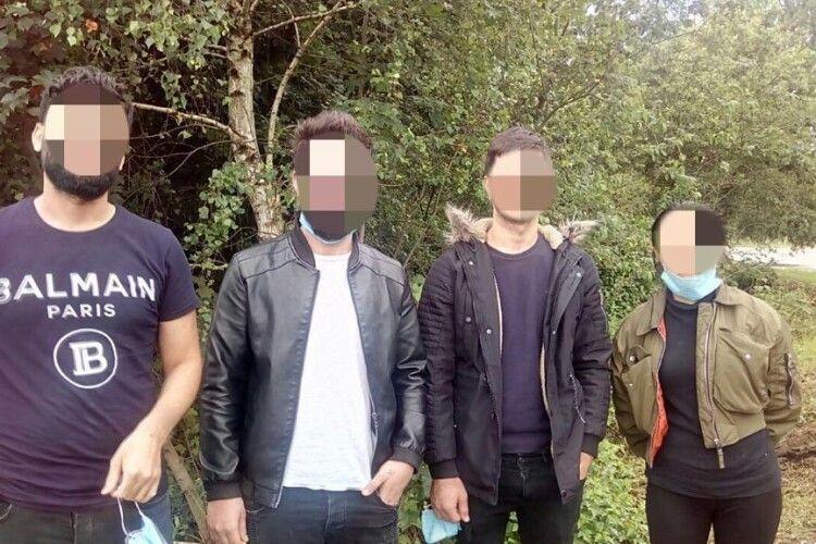 Затримано групу нелегалів з Іраку