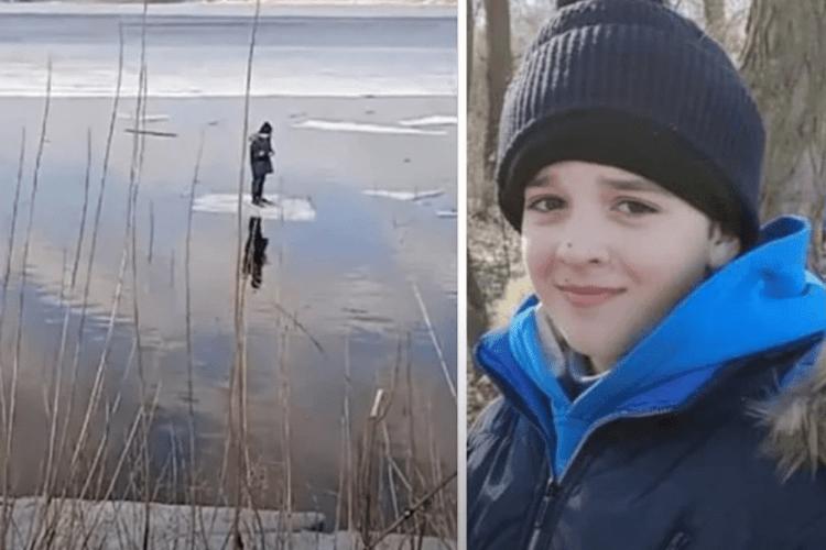 Рибалка спінінгом врятував з крижини 11-річного хлопчика (Відео)