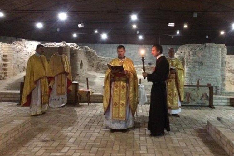 За що молилися греко-католики у найстарішому храмі Луцька