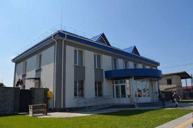 В Любешові для поліції будують нове приміщення вартістю 10 мільйонів гривень