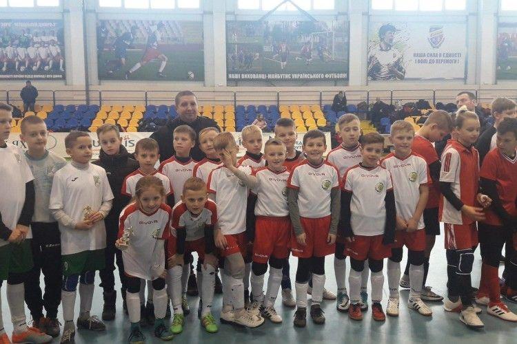 Маневицька дитячо-юнацька спортшкола вперше взяла участь в розіграші Кубку України з футзалу