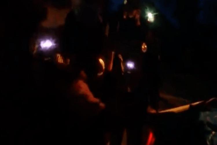 Священник Московського патріархату поліцейському: «Сволочь бендеровская! Хахол!». Відео 18+