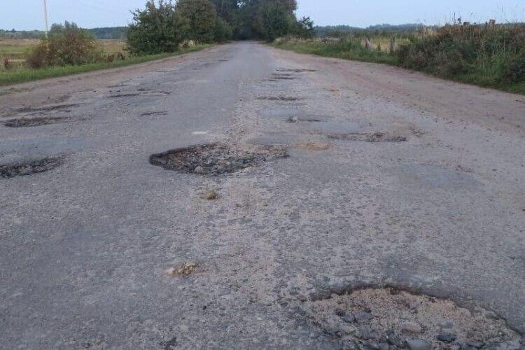Дороги на Волині чекають ремонту вже 20 літ (Фото)
