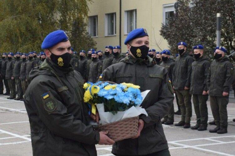 Луцьких гвардійців привітали з Днем захисників та захисниць України (Фото. Відео)