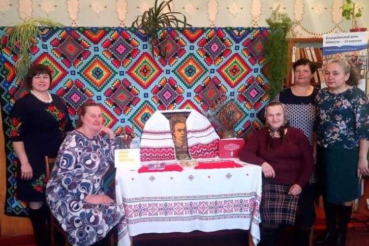 У Сошичненській ОТГ вітали аматорів народного мистецтва