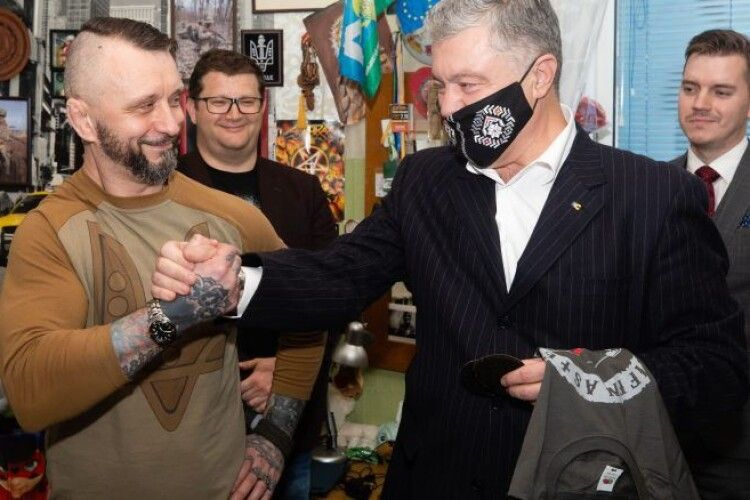 «Ріффмастер» подякував Порошенку за підтримку і закликав ЗМІ не роздувати фальшивих сенсацій