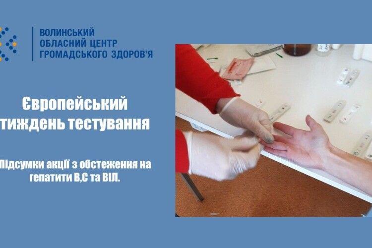 У Луцьку під час безкоштовного обстеження у 8-ми людей виявили гепатит С