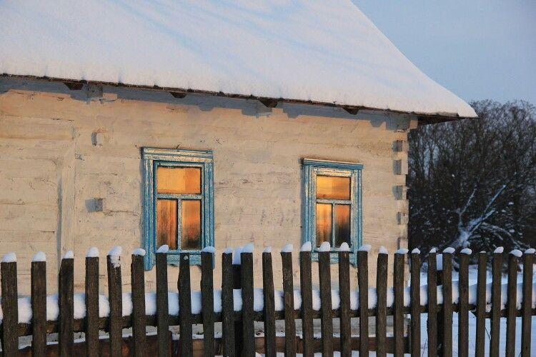Волинський фотограф три дні подорожував зимовими селами  і лісами