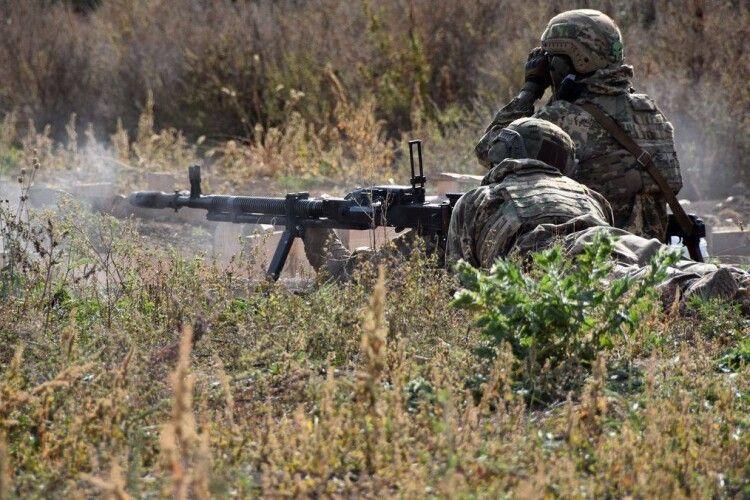 Окупанти шість разів стріляли на Донбасі, минуло без втрат
