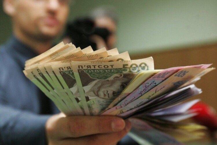 РЕАЛЬНА зарплата на Волині зросла лише на 1% в той час, як в Україні – на 6%