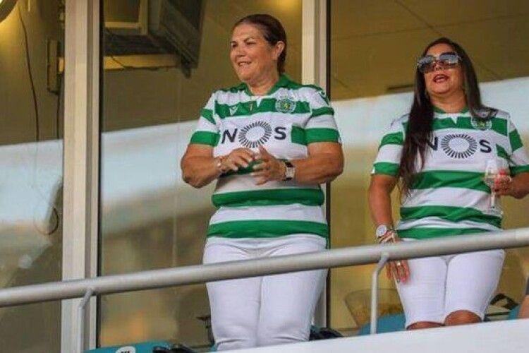 Матір Роналду несамовито святкувала чемпіонство свого улюбленого клубу