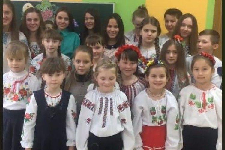 22 школярів читали твори Лесі Українки