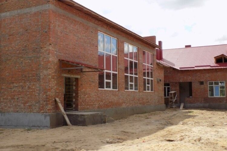 Нову школу на Любешівщині планують відкрити до кінця року