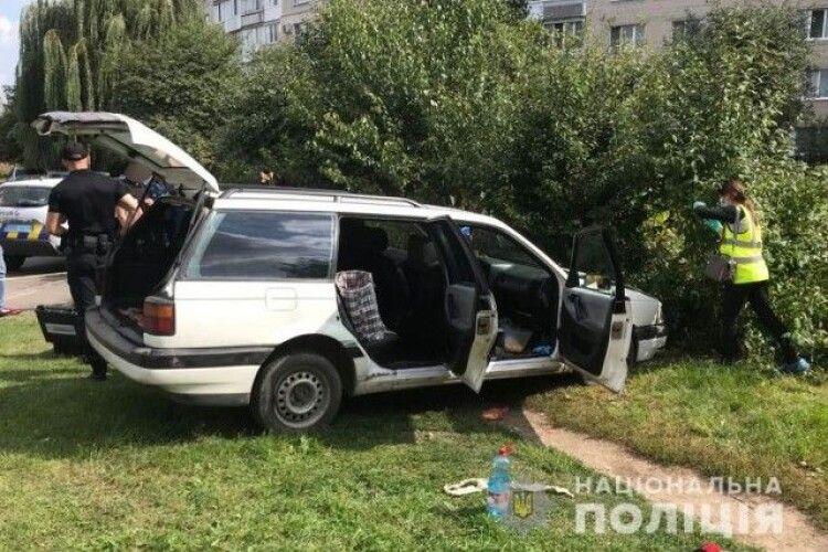 Чоловік та жінка, які вбили селянина під Луцьком, потрапили у ДТП на автомобілі жертви
