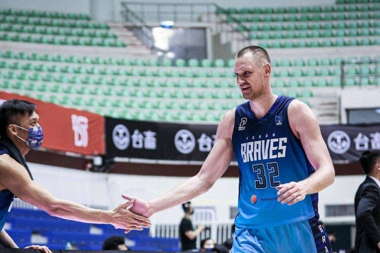 Український баскетболіст став чемпіоном Тайваню