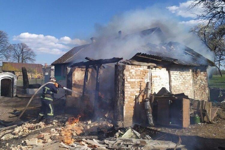 За тиждень на Волині у пожежах загинуло дві людини