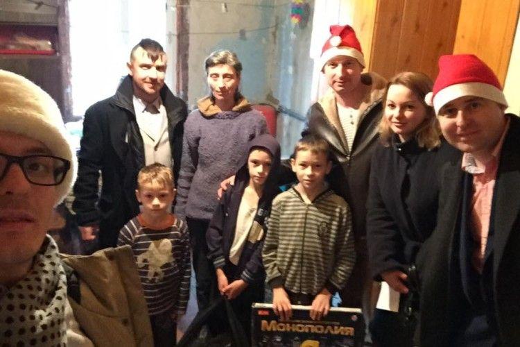 До 14 багатодітних родин Ківерщини завітав Святий Миколай