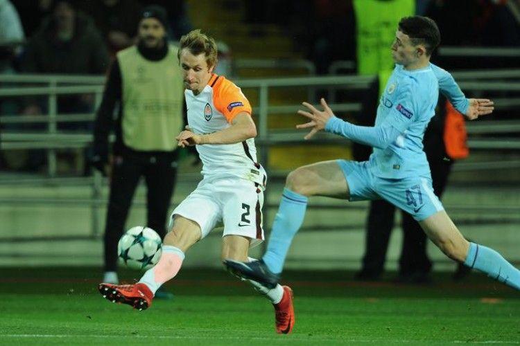Матч Ліги чемпіонів УЕФА.