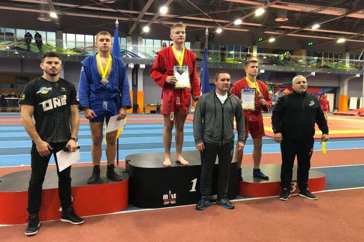 Волиняни взяли 17 медалей на чемпіонаті з бойового самбо