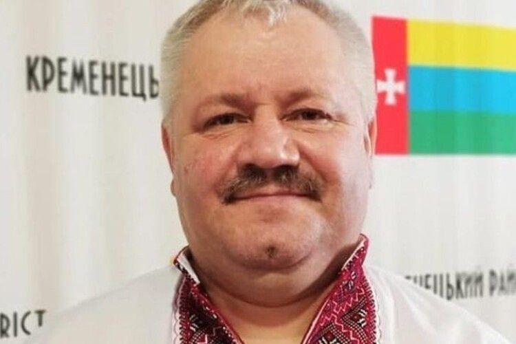 Помер голова Кременецької райради на Тернопільщині, в якого виявили Covid-19